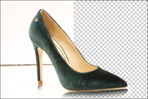Single Clipping Path